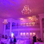 Uplighting at the Carnegie Center St. Joseph, MI